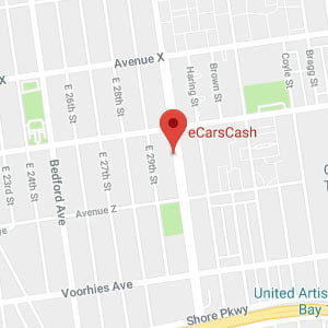 Cash For Cars Map and Directions in Brooklyn NYC